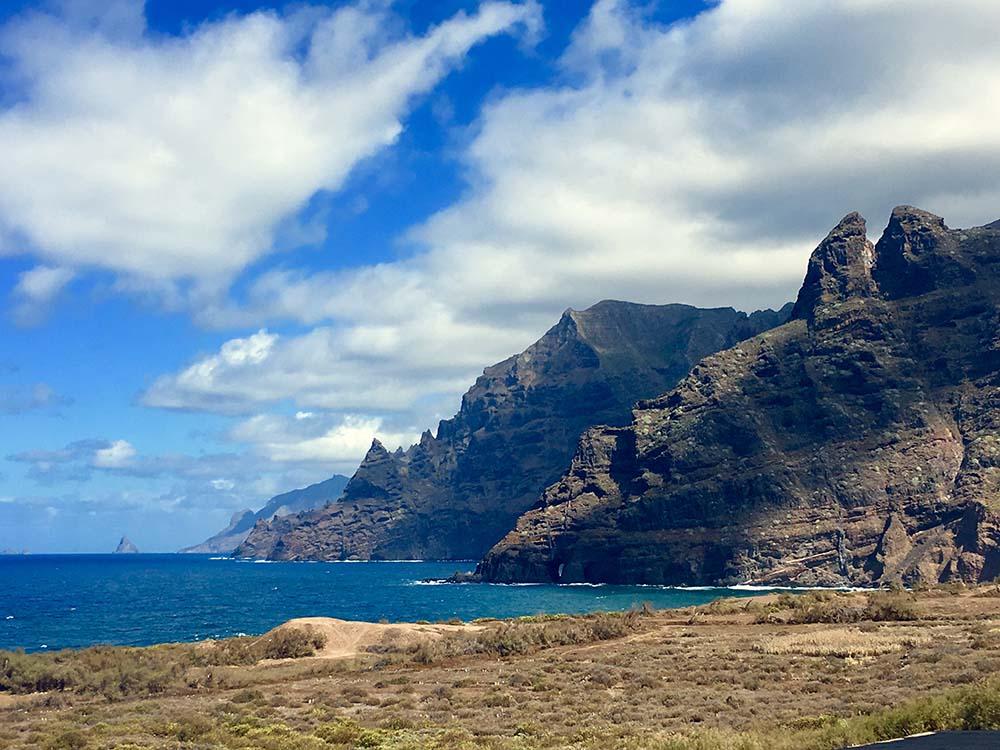 Landschaft Kanaren Canary Vibes Norden Teneriffa Anaga