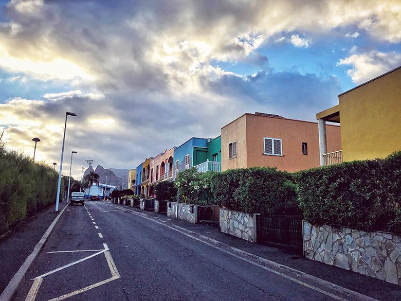 Punta del Hidalgo Straßen