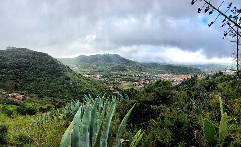 Wanderung Anaga Gebirge Bajamar Tegueste