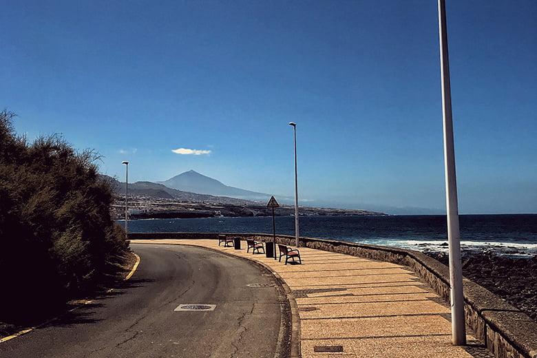 Punta del Hidalgo Wandern Teneriffa
