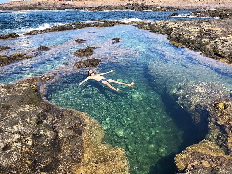 Charcos Naturschwimmbecken Punta del Hidalgo Teneriffa