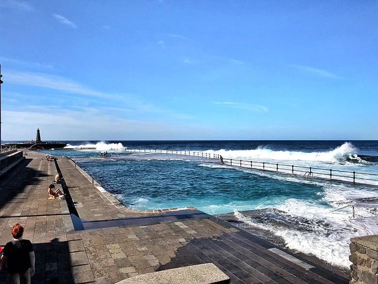 Naturschwimmbecken Bajamar Teneriffa