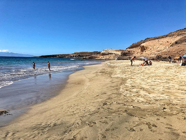 Strand Playa De Diego Hernandez Teneriffa
