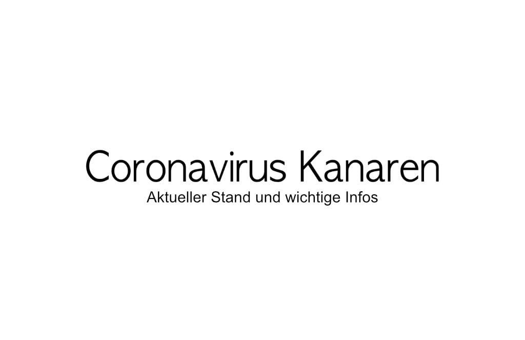 Coronavirus Kanaren