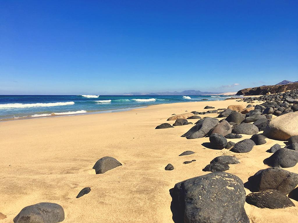 Fuerteventura Strand sandige Landschaften