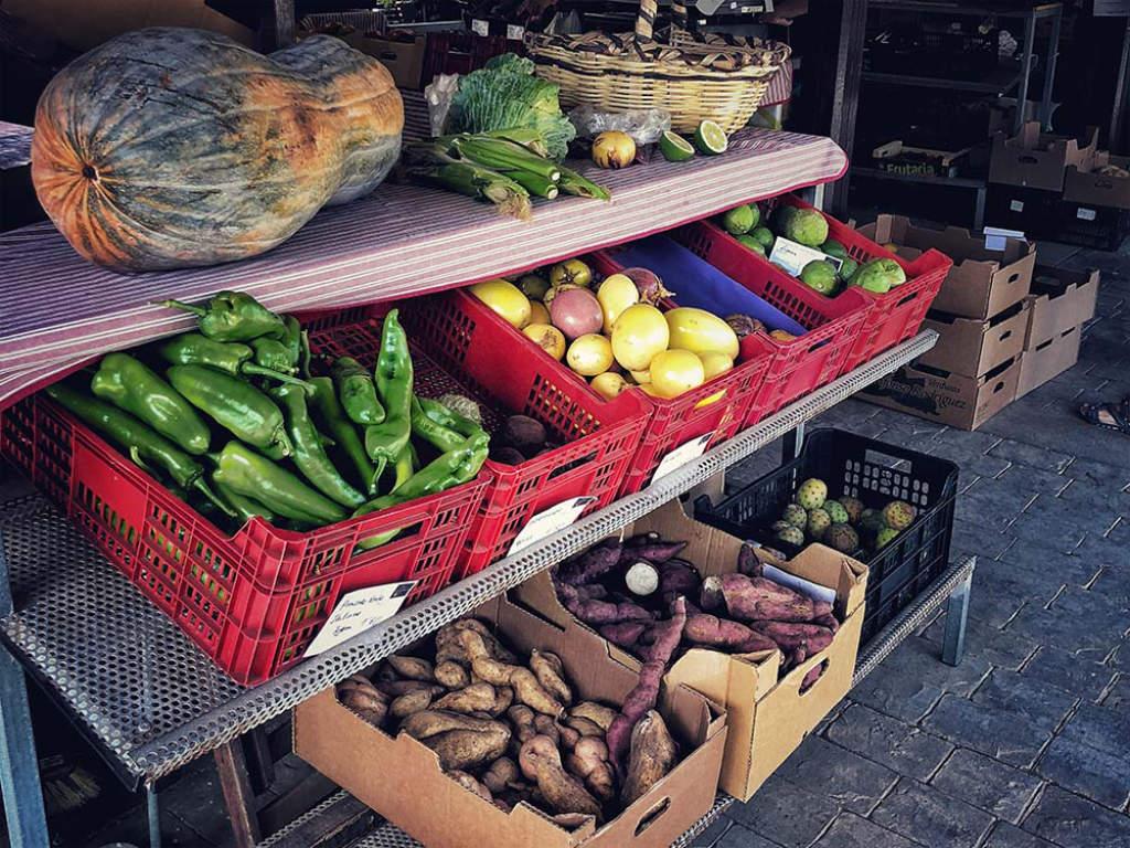 Bauernmarkt in Tegueste auf Teneriffa