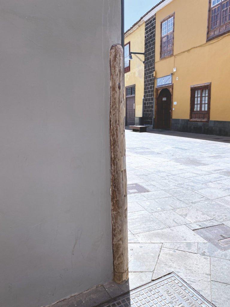 Holzecke Altstadt San Cristóbal de La Laguna