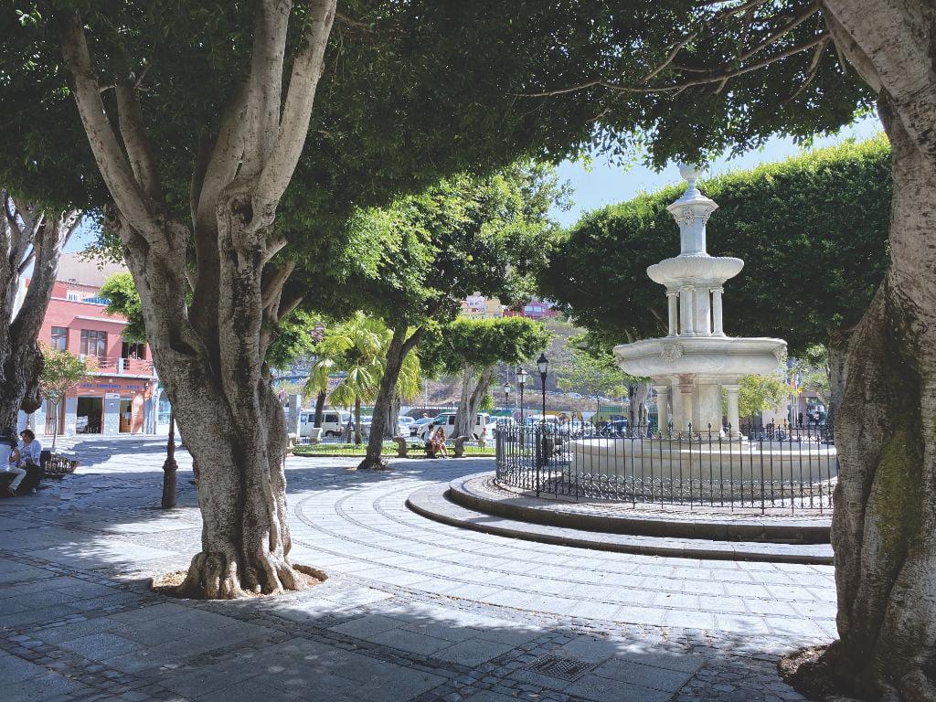 Plaza del Adelantado La Laguna Teneriffa