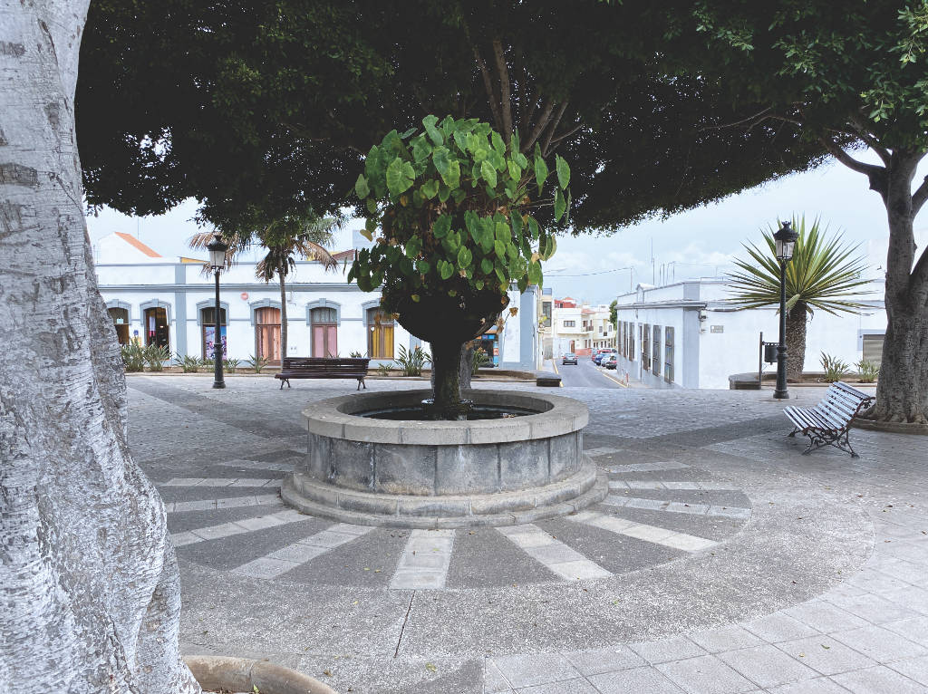 Plaza de San Sebastián Buenavista del Norte Teneriffa