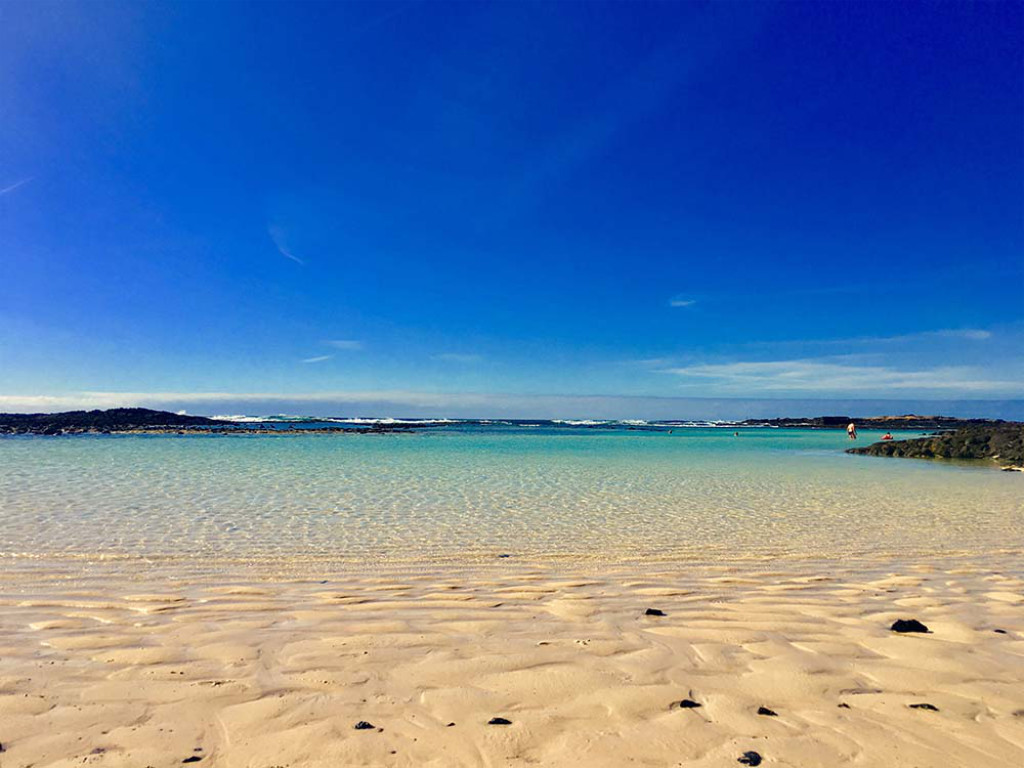 Strand El Cotillo auf Fuerteventura