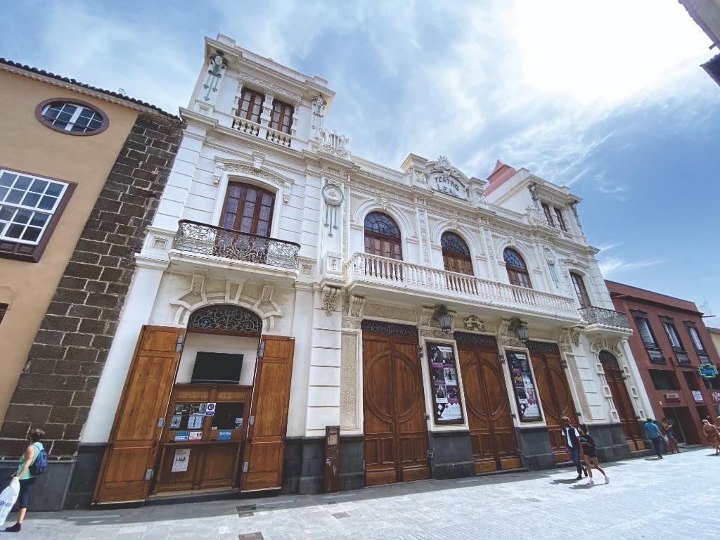 Teatro Leal in San Cristóbal de La Laguna Teneriffa
