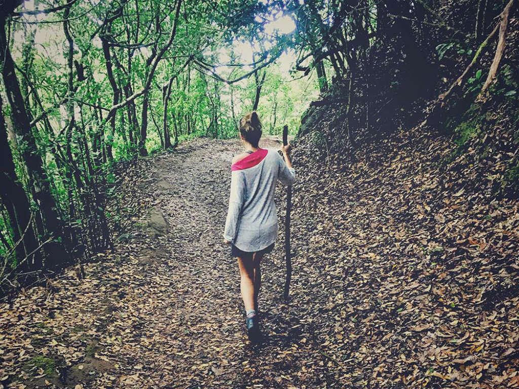 Wandern in Anaga Gebirge auf Teneriffa