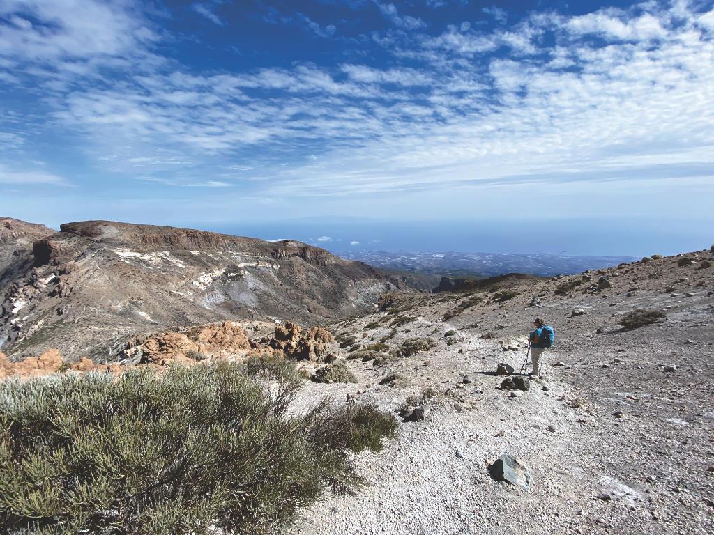Gipfel Guajara Teide Nationalpark