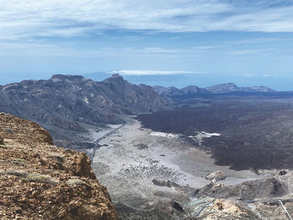 Aussicht Montaña Guajara