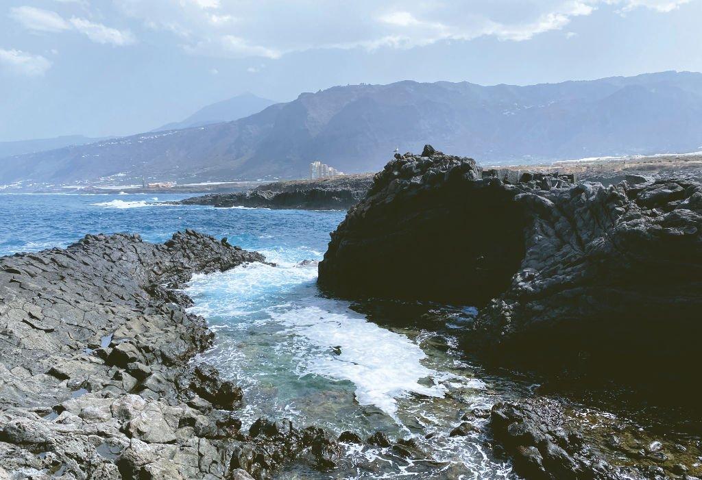 Küste von Los Silos auf Teneriffa