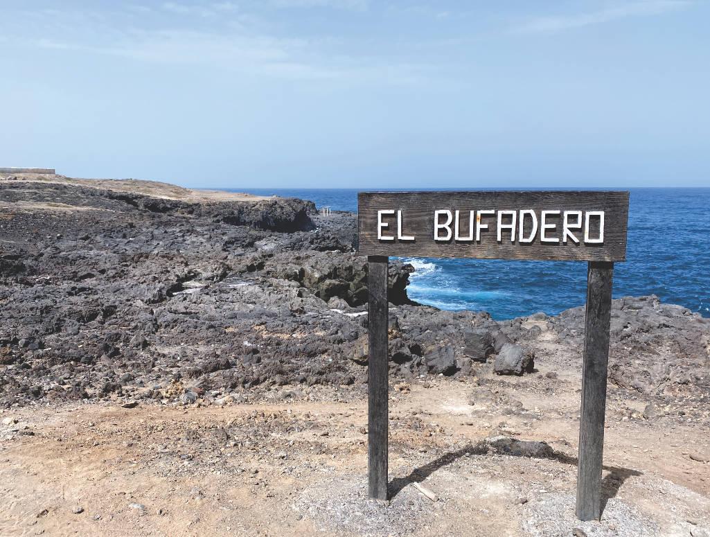 El Bufaderon in Los Silos auf Teneriffa