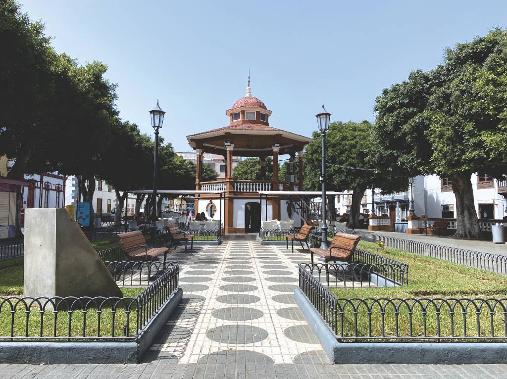 Plaza de la Luz Los Silos Teneriffa