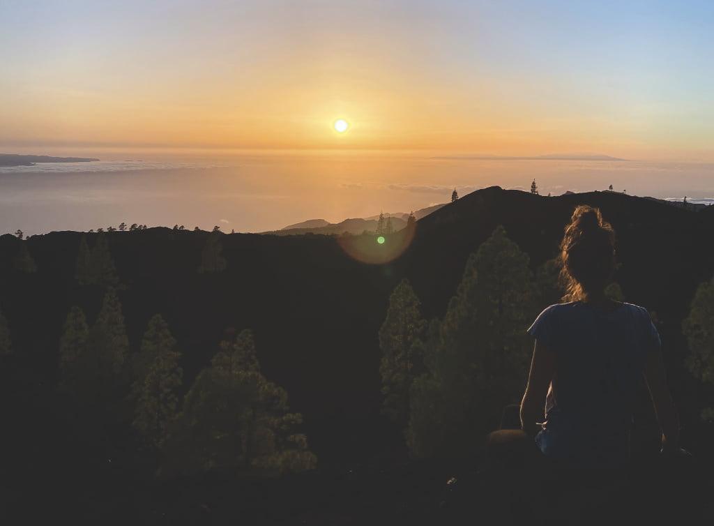 Sonnenuntergang am Teide Nationalpark