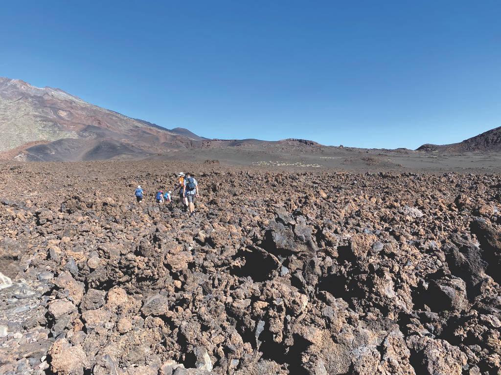 Wandern im Teide Nationalpark Teneriffa