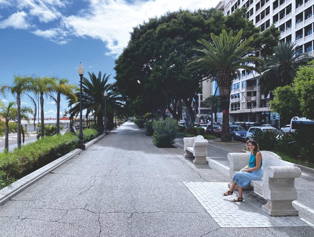 Avenida Anaga in Santa Cruz auf Teneriffa