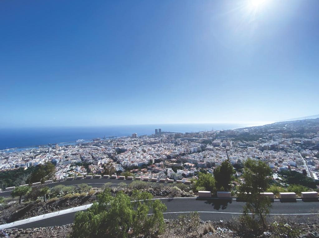 Aussichtspunkt in Santa Cruz de Tenerife auf Teneriffa