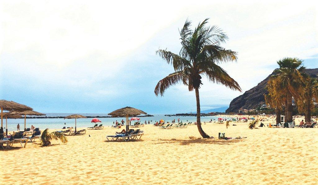 Playa de Las Teresitas Santa Cuz auf Teneriffa