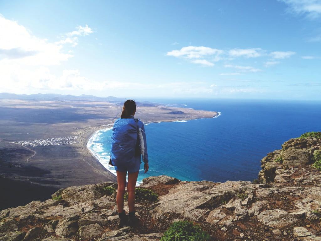 Risco de Famara auf Lanzarote