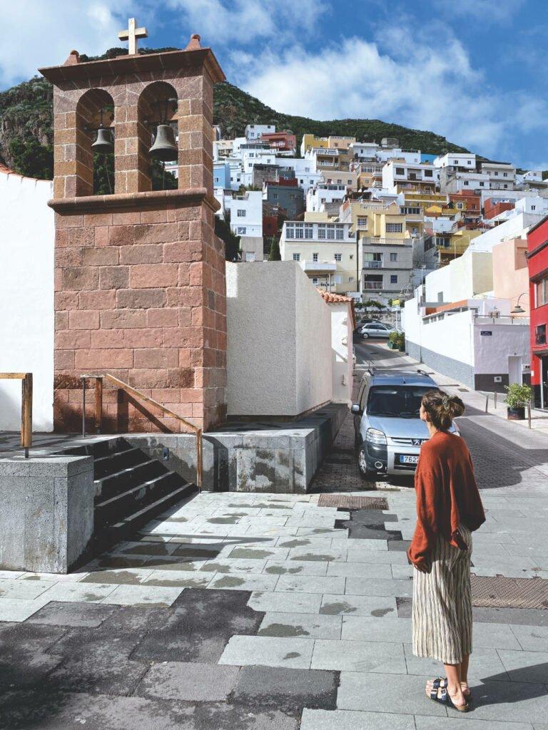 Die Kirche von San Andrés