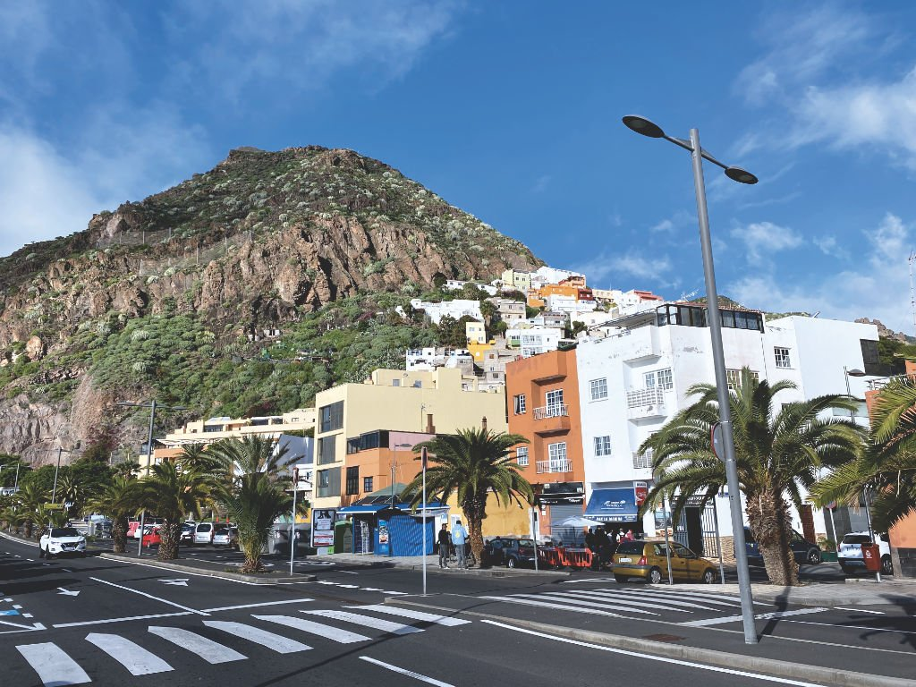 San Andrés auf Teneriffa, die Hauptstraße