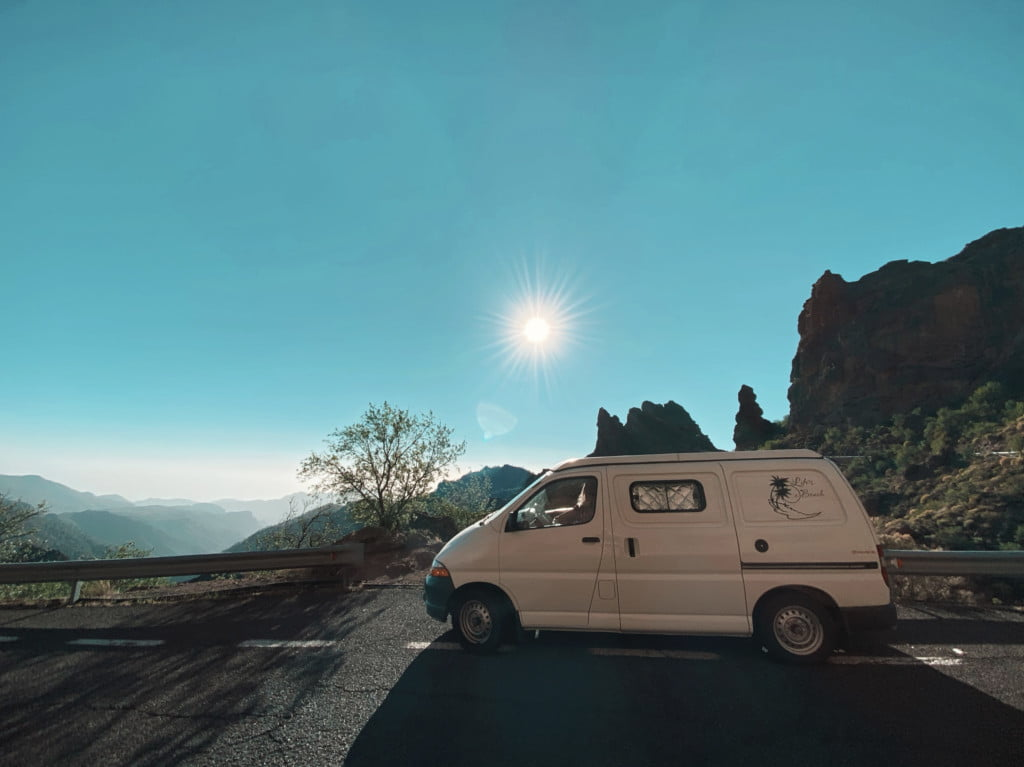Mit dem Camper auf Gran Canaria