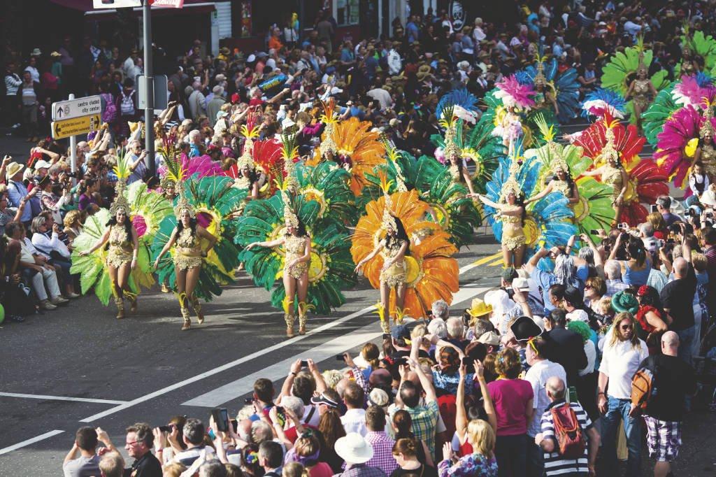 Karneval Santa Cruz de Tenerife auf Teneriffa