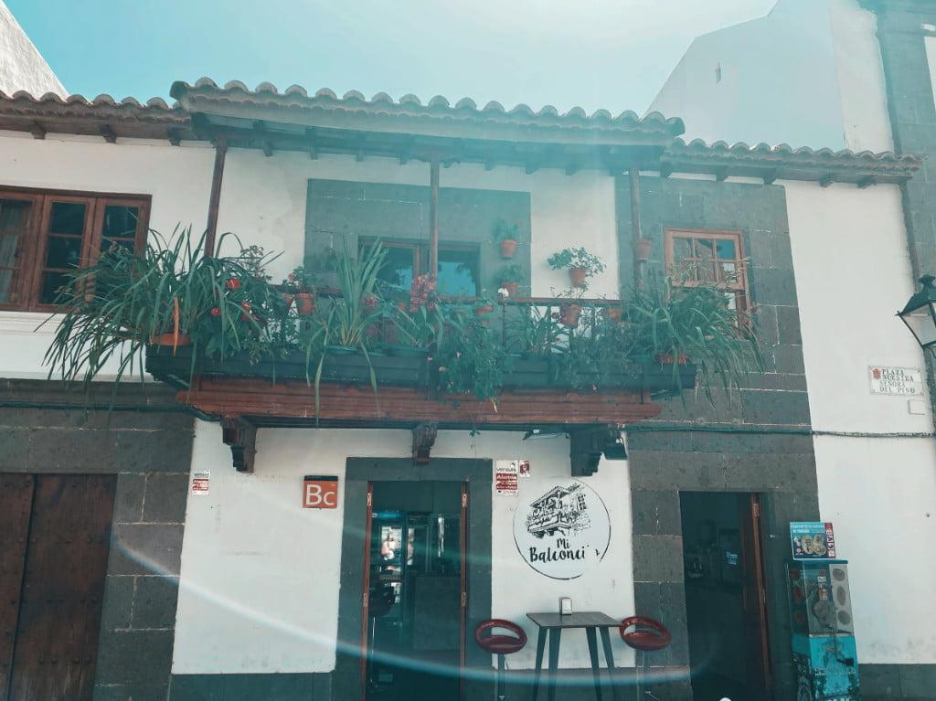 Restaurant Mi Balconcito in Tero auf Gran Canaria