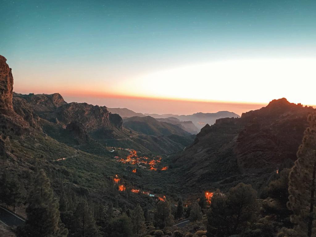 Schlucht auf Gran Canaria