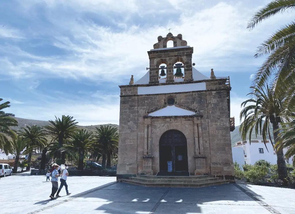 Die Kirche von Nuestra Señora de la Peña, Schutzheilige von Fuerteventura