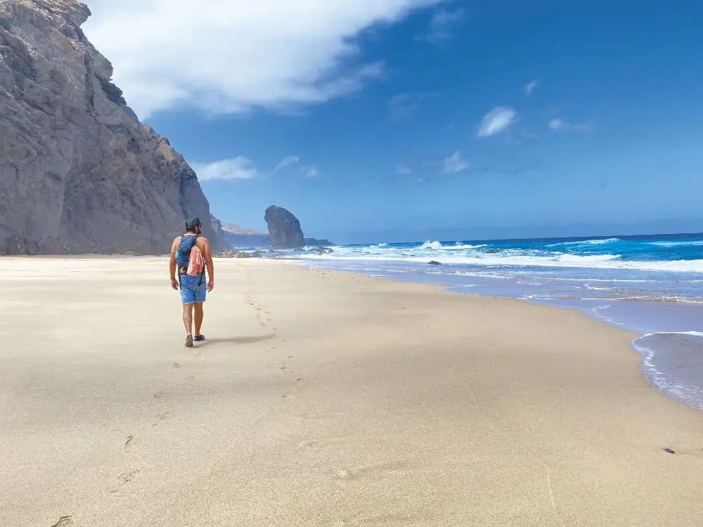 Wander auf Fuerteventura - Roque del Moro in der Playa de Cofete