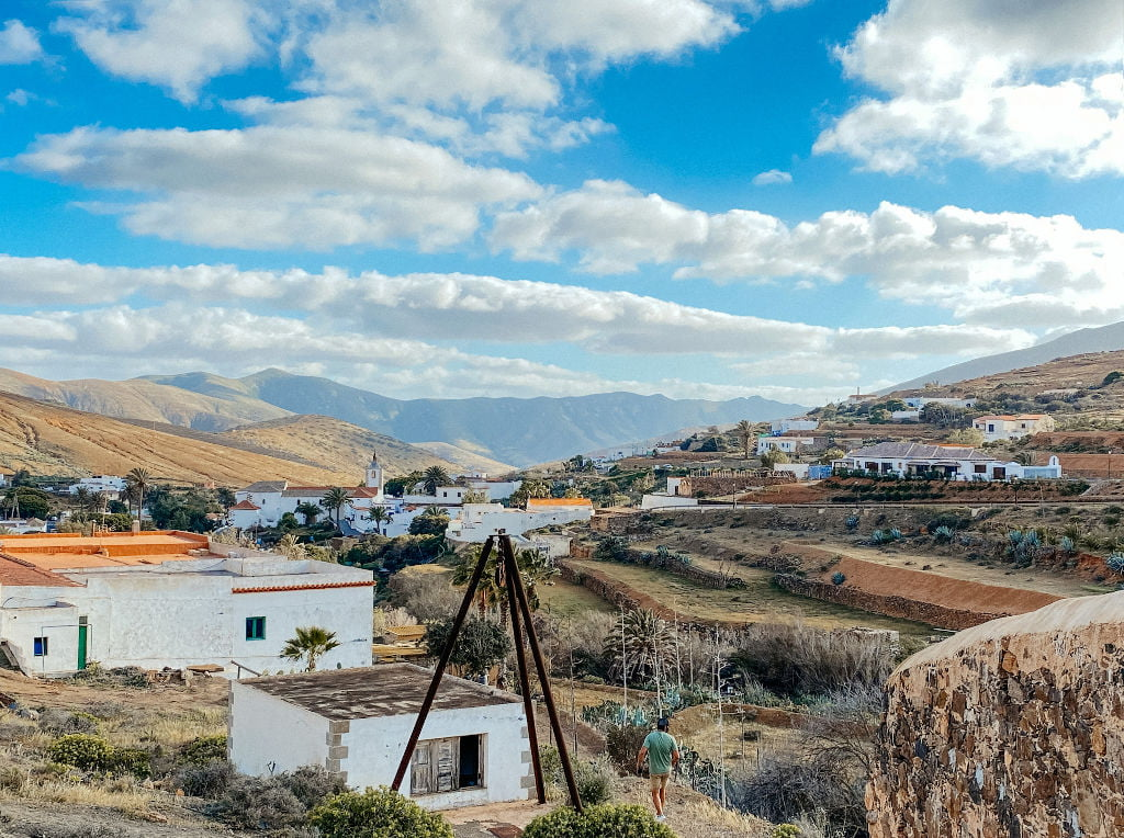 Der Ort Betancuria auf Fuerteventura