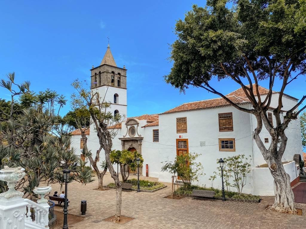 Die Kirche von San Marcos in Icod de los Vinos auf Teneriffa