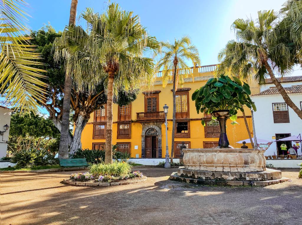 Plaza de la Pila in Icod de los Vinos auf Teneriffa