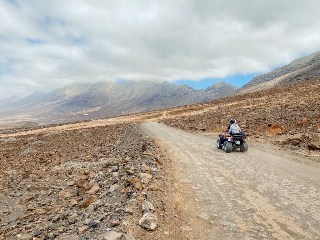 Anfahrt nach Cofete in Süden von Fuerteventura