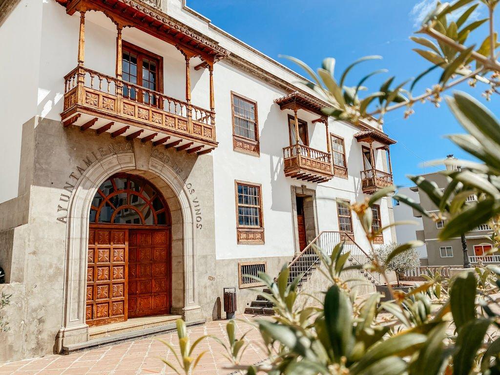 Das Rathaus von Icod de los Vinos auf Teneriffa