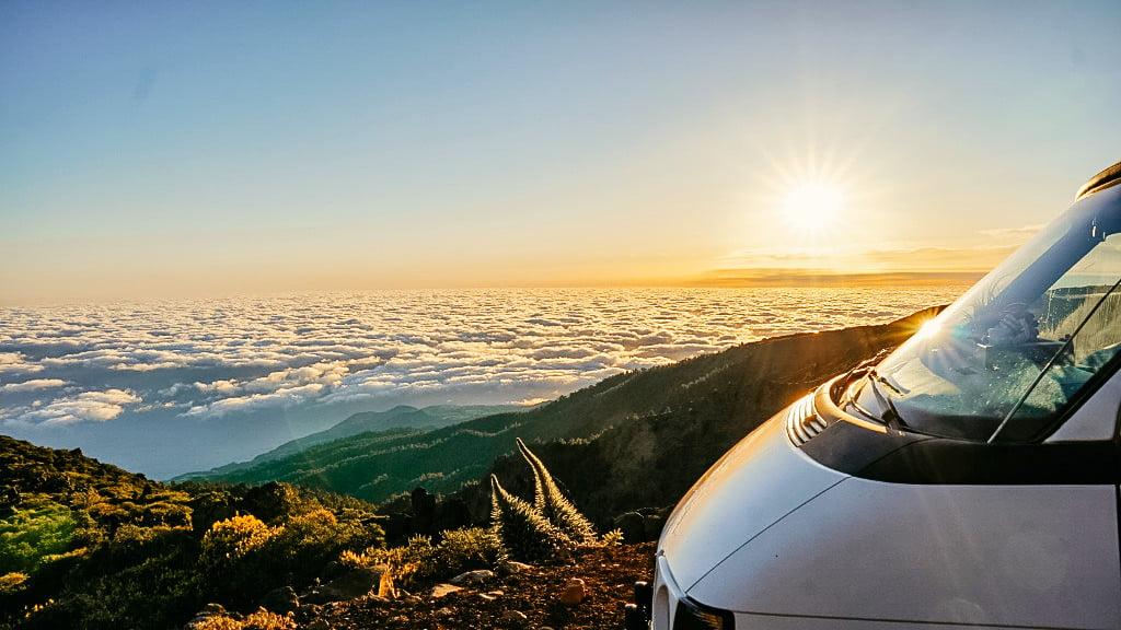 Sonnenuntergang auf La Palma