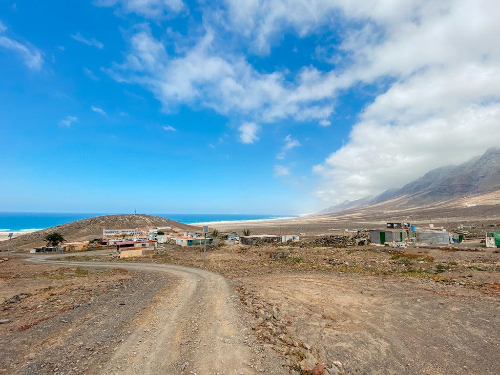 Das Dorf von Cofete auf Fuerteventura