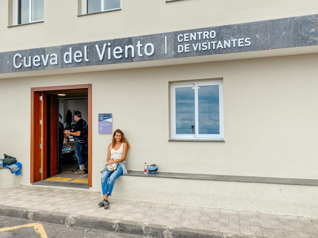 Besucherzentrum der Cueva del Viento auf Teneriffa