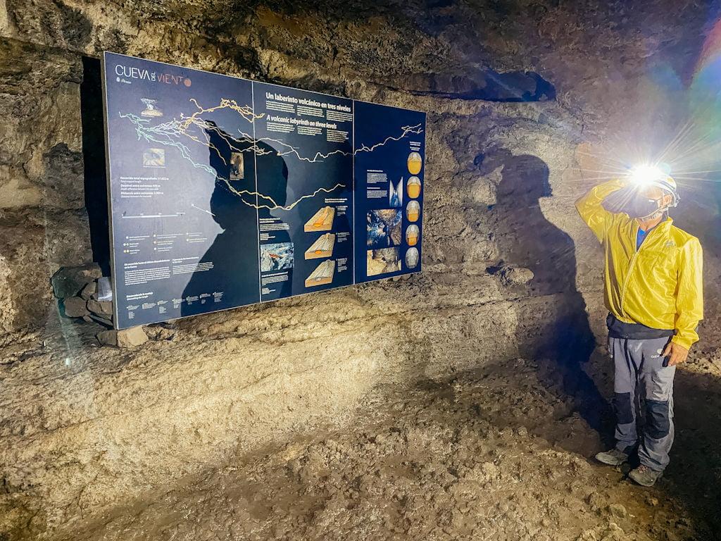 Führung durch die Cueva del Viento auf Teneriffa