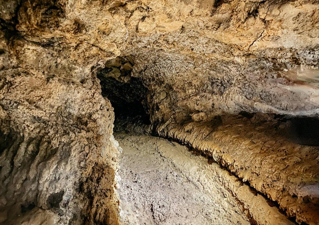 Die Cueva del Viento auf Teneriffa