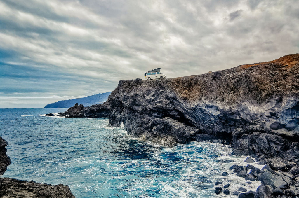 Stellplatz für Camper in La Bombilla auf La Palma