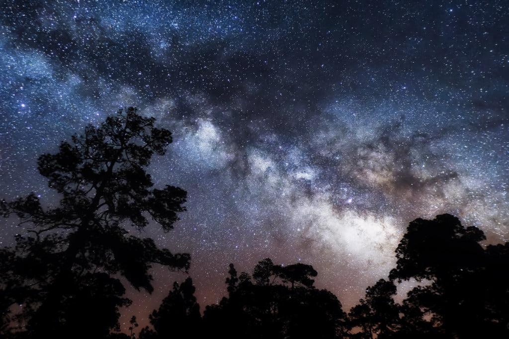 Sternenhimmel auf La Palma
