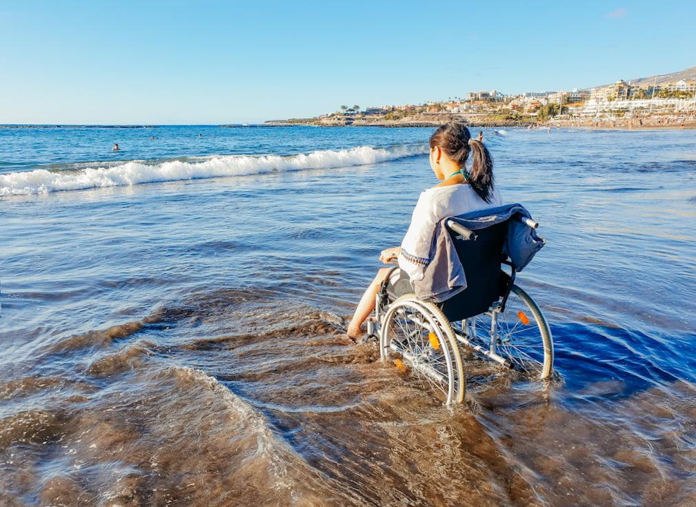 Mit Rollstuhl auf Teneriffa