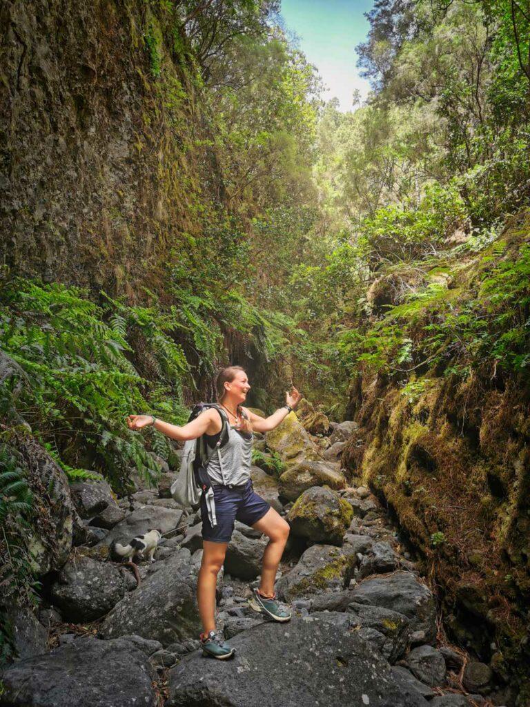 Wandern in Los Tilos auf La Palma