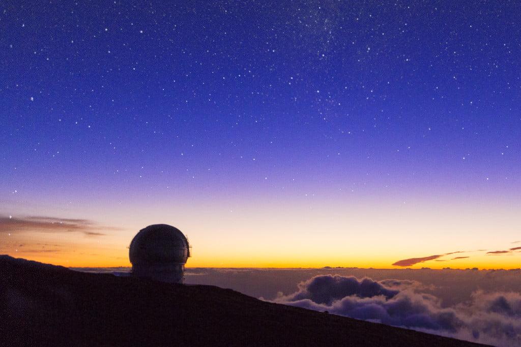 Observatorium von La Palma (Kanarische Inseln)